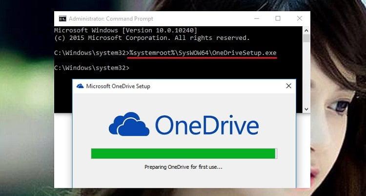 Cách cài đặt lại OneDrive trong Windows 10 đơn giản nhất 1