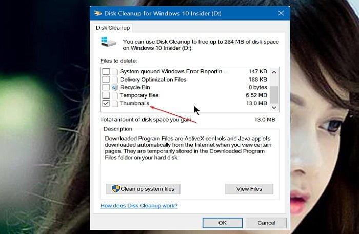 Cách xóa và cài đặt lại Thumbnail Cache trong Windows 10 4