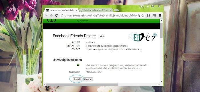 Cách xóa hàng loạt bạn bè trên facebook đơn giản 5
