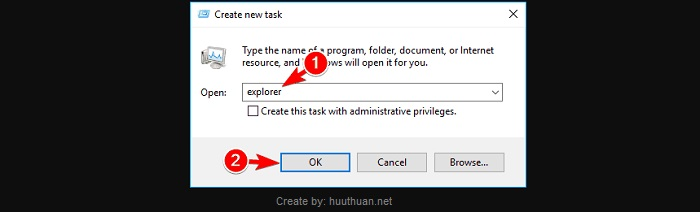 Cách sửa lỗi Action can't be completed because the file is open 10