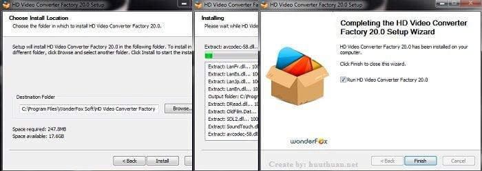 Công cụ chuyển đổi Video miễn phí 100% không giới hạn 3