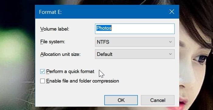 Cách định dạng phân vùng ổ đĩa trong Windows 10 đơn giản 3