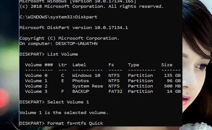 Cách định dạng phân vùng ổ đĩa trong Windows 10 đơn giản 4