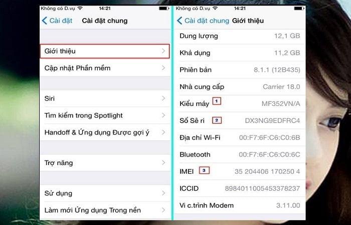 2 Cách kiểm tra IMEI iPhone đơn giản chuẩn xác nhất 2