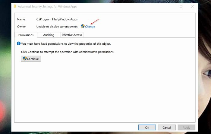 """Cách sửa lỗi """"You Have Been Denied Permission To Access This Folder"""" 3"""
