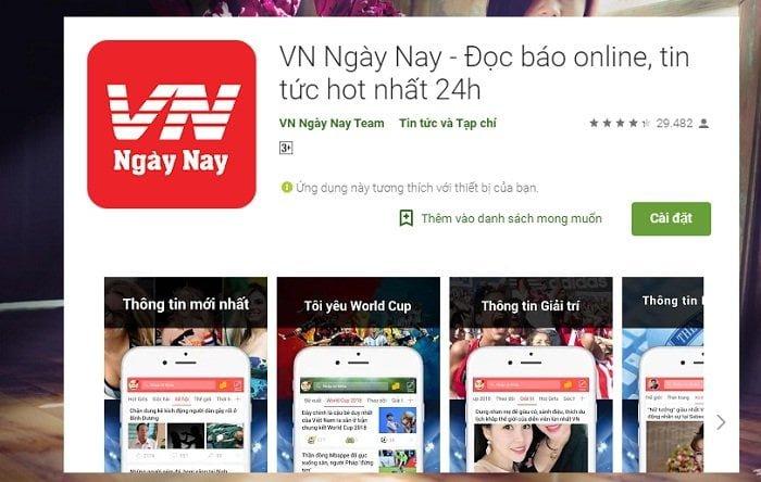 Cách tải App đọc báo kiếm tiền dễ dàng với VN Ngày nay 2