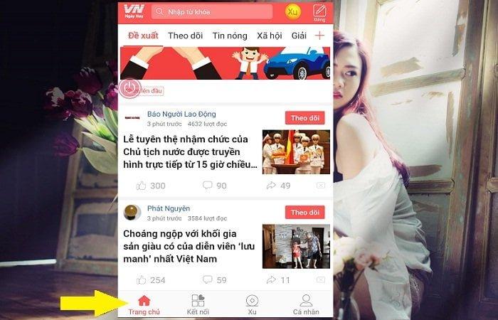 Cách tải App đọc báo kiếm tiền dễ dàng với VN Ngày nay 3