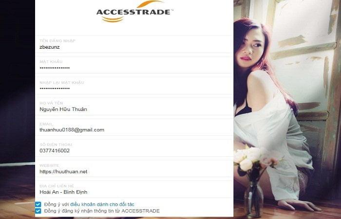 Cách kiếm tiền triệu với Accesstrade tiếp thị liên kết