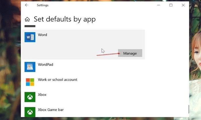 Cách đặt Microsoft Office Word mở tệp mặc định trong Windows 10 6