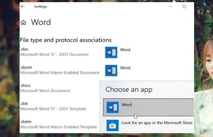 Cách đặt Microsoft Office Word mở tệp mặc định trong Windows 10 2