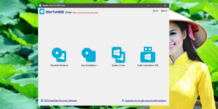 Cài lại Windows với WinToHDD chỉ 1 Click