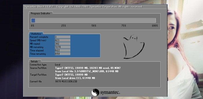 Cách sử dụng Onekey Ghost để khôi phục hệ thống Windows 4