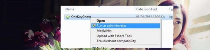 sử dụng Onekey Ghost để khôi phục hệ thống Windows
