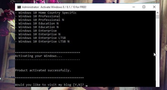 2 cách kích hoạt Windows 10 miễn phí không cần bất kỳ phần mềm nào 5