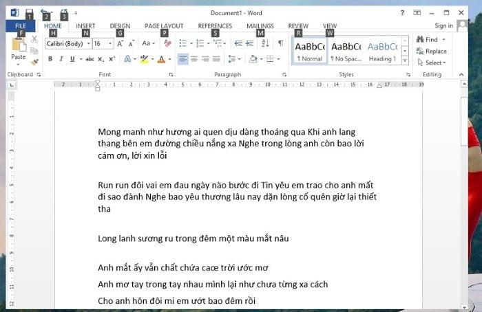 Cách tùy chỉnh khoảng cách giữa các dòng, đoạn văn bản trong Word 4