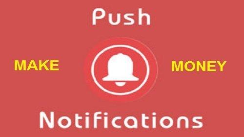 Kiếm tiền trên Blog bằng thông báo đẩy (Push Notification) của DatsPush 1