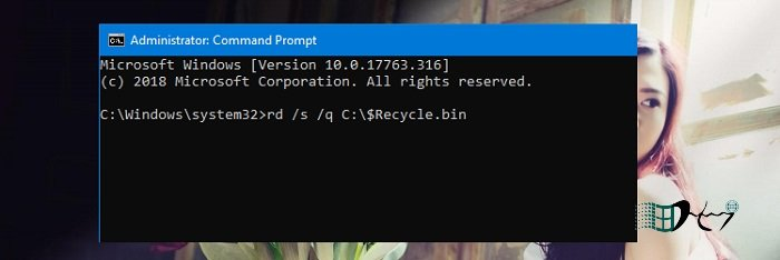 Cách sửa lỗi Recycle Bin Is Corrupted trong Windows 2