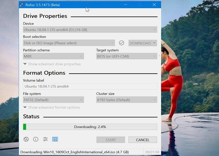 Cách sử dụng Rufus để tải Windows 10 ISO và tạo USB cài đặt Windows 5