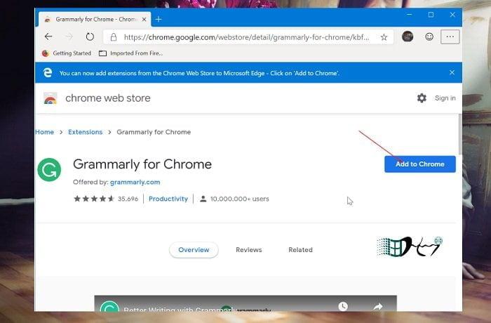 Cách cài đặt tiện ích mở rộng Google Chrome trên Microsoft Edge 3