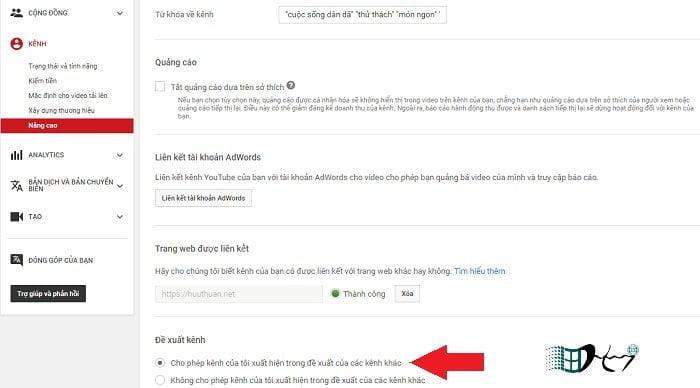 Bạn có biết tính năng chấp nhận đề xuất kênh trong Youtube? 2