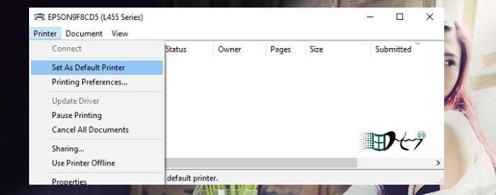 Cách sửa lỗi máy in không đặt được mặc định mã lỗi Error 0x00000709 3