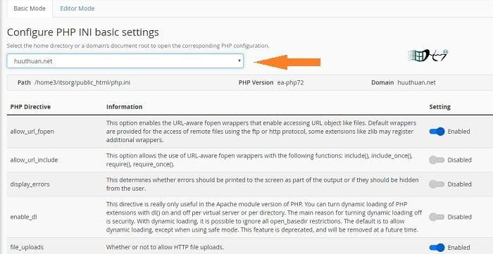 Cách sử dụng phiên bản PHP trên nhiều Website cùng Hosting 3