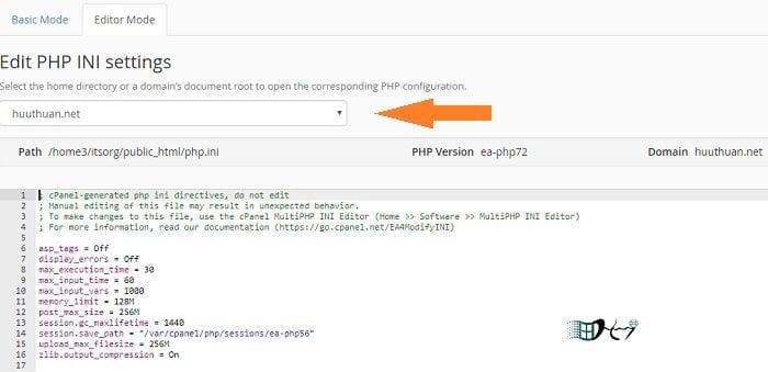 Cách sử dụng phiên bản PHP trên nhiều Website cùng Hosting 4