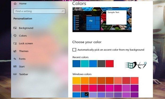 Vị trí các giao diện được cài đặt trong Windows 10 (Best Windows) 6