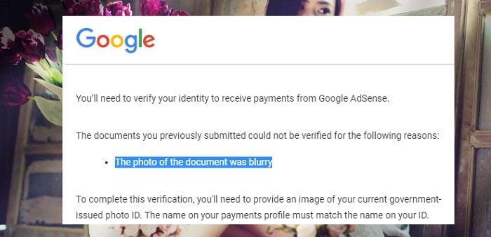 Cách xác minh lại danh tính Google Adsense khi yêu cầu? 4