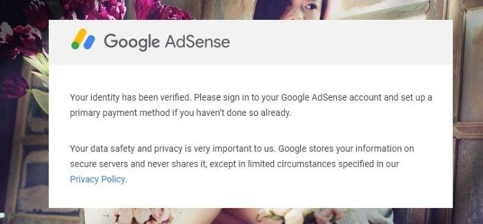 Cách xác minh lại danh tính Google Adsense khi yêu cầu? 5