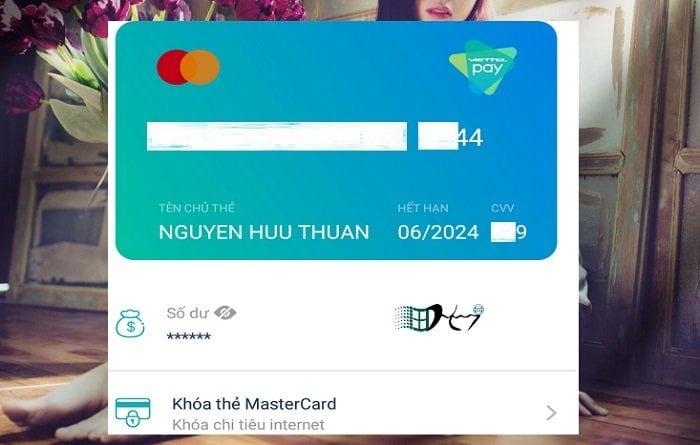 Cách tạo MasterCard ảo Viettel miễn phí giao dịch trên toàn thế giới 8