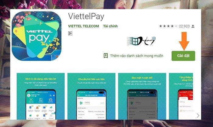 tạo MasterCard ảo Viettel miễn phí
