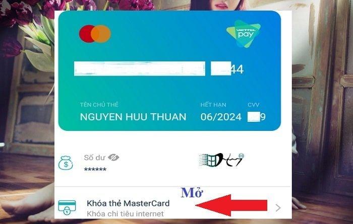 Liên kết thẻ MasterCard ảo Viettel