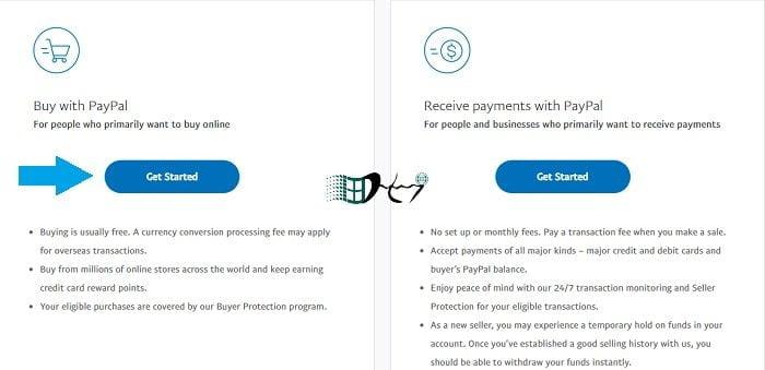 Cách tạo một tài khoản Paypal giao dịch online mới và đơn giản nhất 2