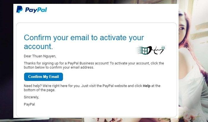 Cách tạo một tài khoản Paypal giao dịch online mới và đơn giản nhất 6