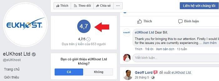 Đăng ký hosting, miễn phí tên miền tại eUKhost chưa đến 100K 2