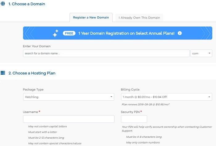 Coupon hostgator hosting giá 0.01$ không thể rẻ hơn 3