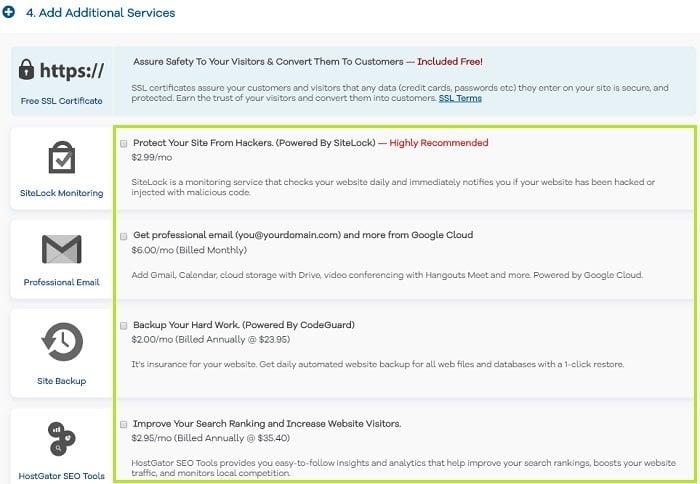 Coupon hostgator hosting giá 0.01$ không thể rẻ hơn 4