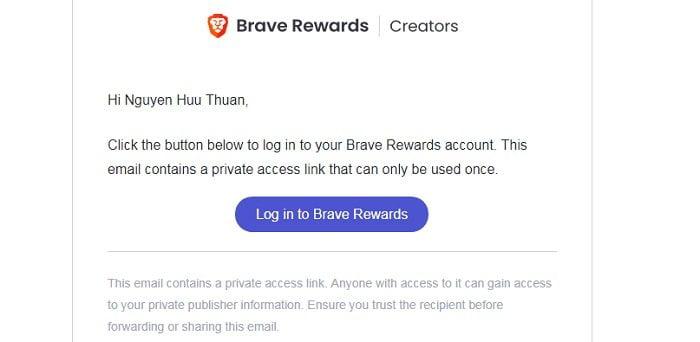 Kiếm tiền với trình duyệt Brave, trình duyệt nhanh và bảo mật 13