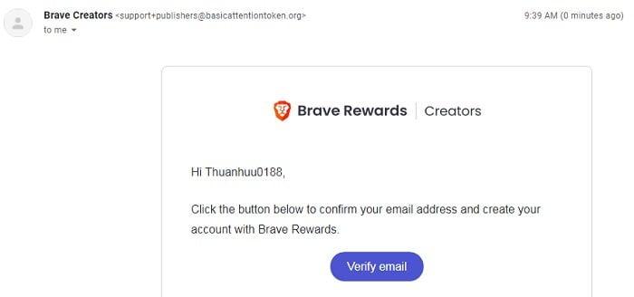 Kiếm tiền với trình duyệt Brave, trình duyệt nhanh và bảo mật 5