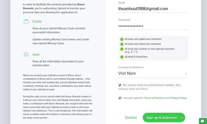 Kiếm tiền với trình duyệt Brave, trình duyệt nhanh và bảo mật 16