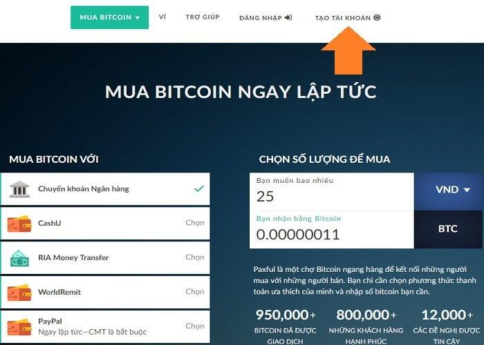 Cách mua bitcoin bằng Paypal nhanh chóng, đơn giản 2