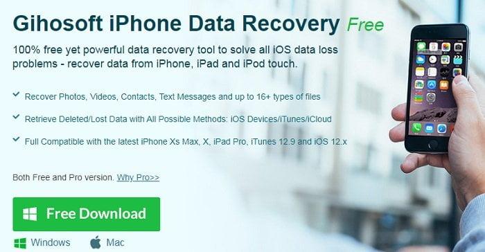 Cách khôi phục các dữ liệu đã xóa trên Iphone hiệu quả 2