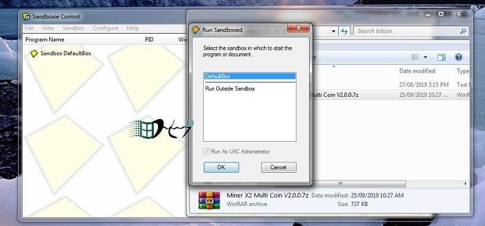 Chạy các chương trình không đáng tin trong Windows an toàn 9