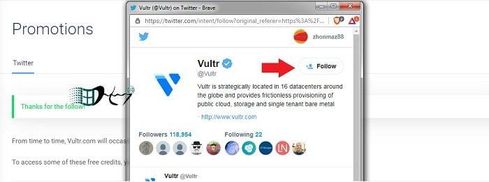 Đăng ký VPS Vultr nhận ngay 103$ FREE Credit đơn giản 10