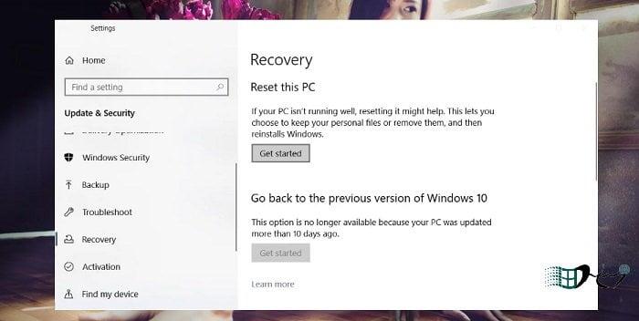 Khôi phục Windows 10 từ đám mây khi bị lỗi nhanh nhất 2