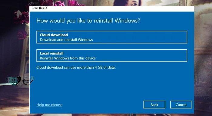 Khôi phục Windows 10 từ đám mây khi bị lỗi nhanh nhất 3