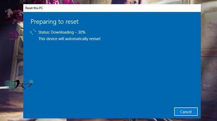 Khôi phục Windows 10 từ đám mây khi bị lỗi nhanh nhất 5