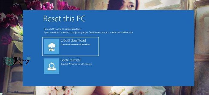 Khôi phục Windows 10 từ đám mây khi bị lỗi nhanh nhất 7