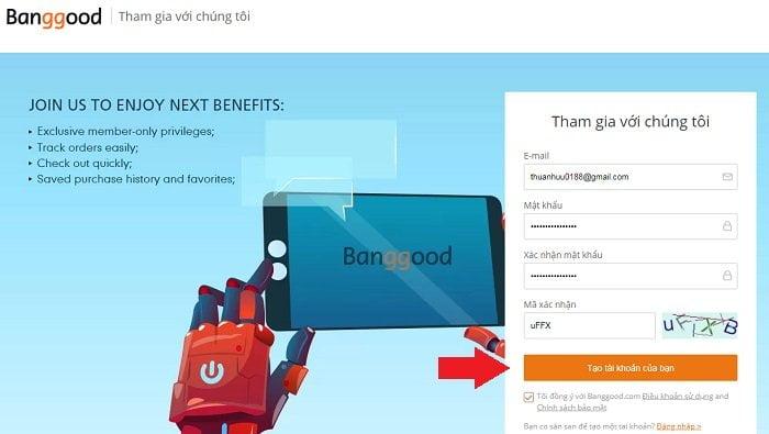 Trãi nghiệm mua hàng Online bằng Paypal cực đơn giản 2